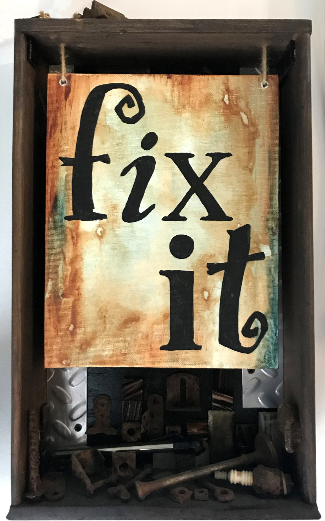 Fix It Shadowbox